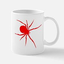 Red Black Widow Spider Mugs