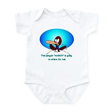 Unique Sexy penguin Infant Bodysuit