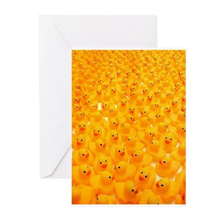 Rubber Duckies Greeting Cards (Pk of 10)