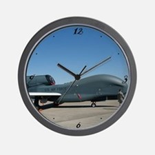 Global Hawk Wall Clock