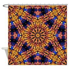 Sunset Kaleidoscope Shower Curtain