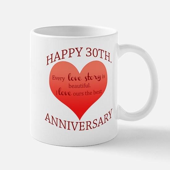 30th. Anniversary Mug