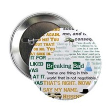 "Walter White Quotes 2.25"" Button (100 pack)"