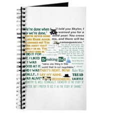 Walter White Quotes Journal