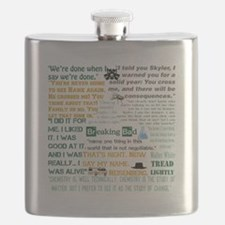 Walter White Quotes Flask