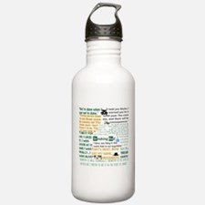Walter White Quotes Water Bottle