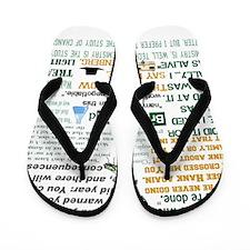 Walter White Quotes Flip Flops