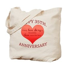 35th. Anniversary Tote Bag