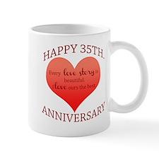 35th. Anniversary Mug