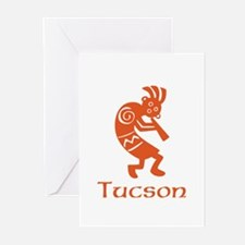 Tucson Kokopelli Greeting Cards