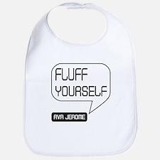 Ava Jerome Fluff Yourself White Bubble Bib