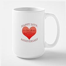 50th. Anniversary Mug