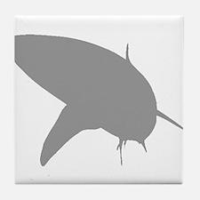 Grey Bull Shark Tile Coaster