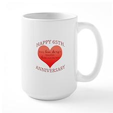 65th. Anniversary Mug