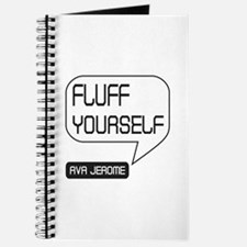 Ava Jerome Fluff Yourself White Bubble Journal