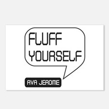 Ava Jerome Fluff Yourself Postcards (Package of 8)