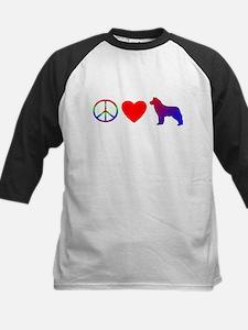 Peace, Love, Siberian Husky Tee