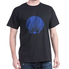 Blue Sea Shell T-Shirt