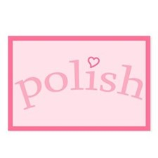 """""""Polish with Heart"""" Postcards (Package of 8)"""