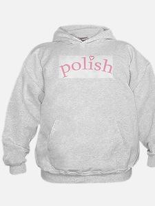 """""""Polish with Heart"""" Hoodie"""