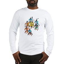 Shoshone Wolf Dancers Long Sleeve T-Shirt