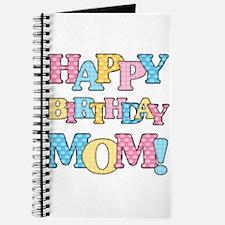 Happy Birthday Mom Journal