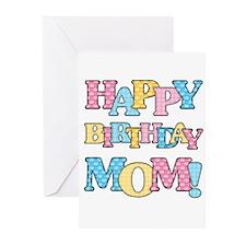 Happy Birthday Mom Greeting Cards