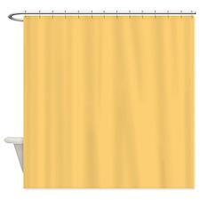 Mellowed Yellow Shower Curtain