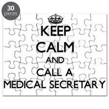 Keep calm and call a Medical Secretary Puzzle