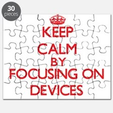 Keep Calm by focusing on Devices Puzzle