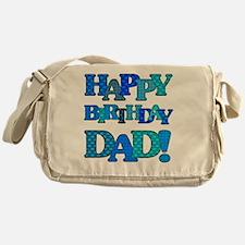 Happy Birthday Dad Messenger Bag