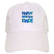Happy Birthday Dad Baseball Cap