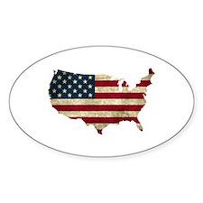 Vintage USA Decal