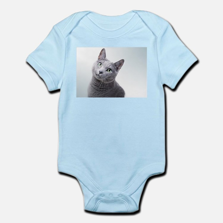Russian Blue Cat Baby Clothes & Gifts