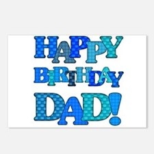 Happy Birthday Dad Postcards (Package of 8)
