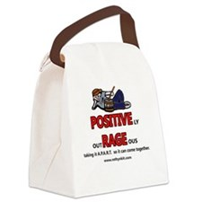 Positively Outrageous Canvas Lunch Bag