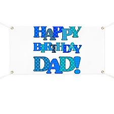Happy Birthday Dad Banner