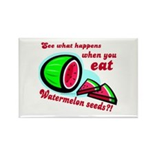 Don't Swallow Watermelon Seeds Rectangle Magnet