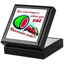 Don't Swallow Watermelon Seeds Keepsake Box