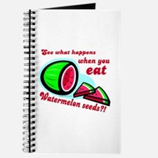 Don't Swallow Watermelon Seeds Journal