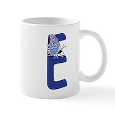 Bug Letter E Mugs