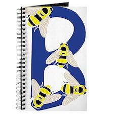 Bug Letter B Journal