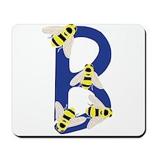 Bug Letter B Mousepad