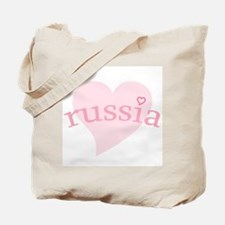 """""""Russia with Heart"""" Tote Bag"""