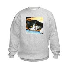 cat 301 tuxedo Sweatshirt