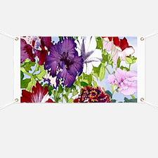 Dazzlin' Petunia Power Banner