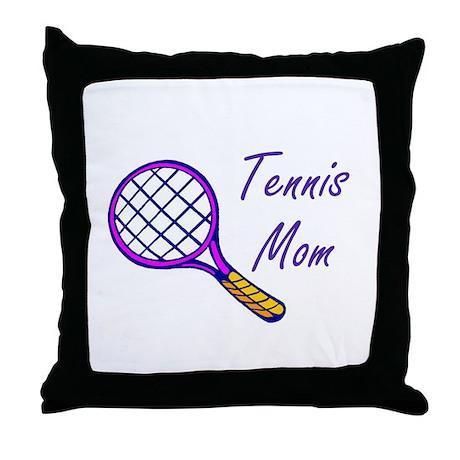 Tennis Mom Throw Pillow