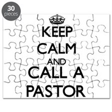 Keep calm and call a Pastor Puzzle