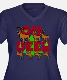 Oh Deer Plus Size T-Shirt