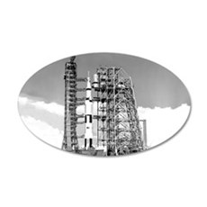 Saturn V Wall Decal